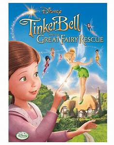 Disneyu002639s Tinker Bell And The Great Fairy Rescue Dvd