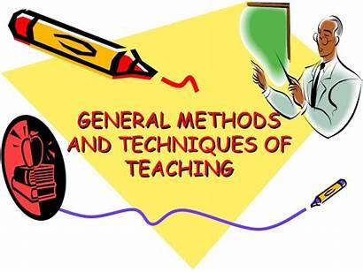 Teaching Techniques Methods General Slideshare Knowledge Method