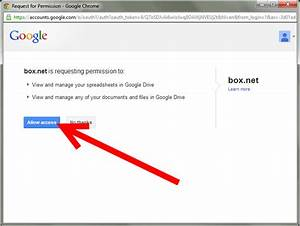 how to connect your box account to google docs 4 steps With google docs account new