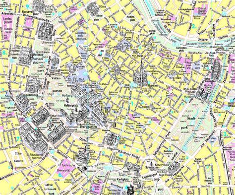 karte von wien stadtplan wien