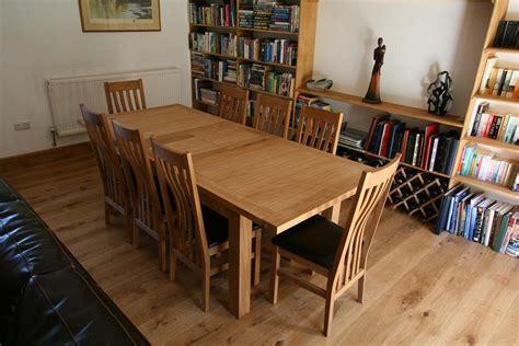 large oak dining table 2 8m 3 8m ebay