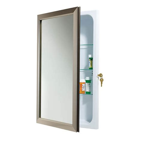 Broan Medicine Cabinet Replacement Shelves by Medicine Cabinets Security Locking Medicine Cabinets By