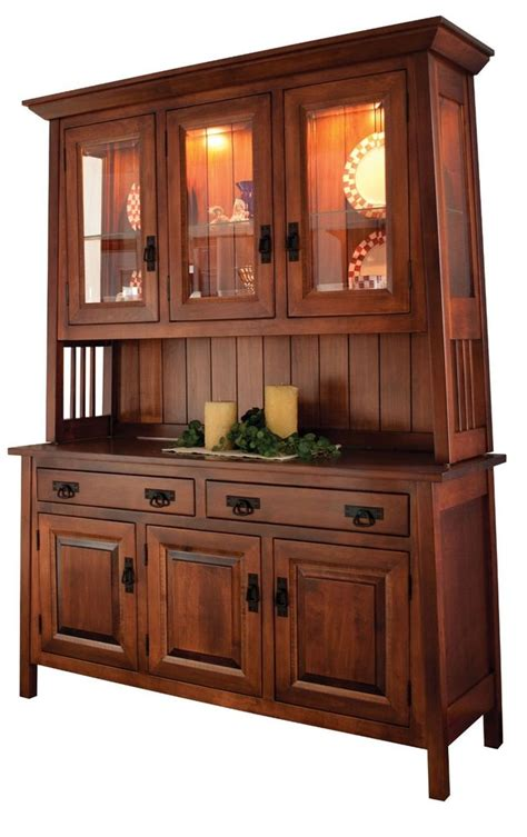 dining room server cabinet amish dining room mission hutch buffet server china