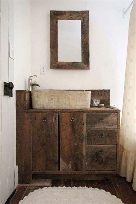 images  reclaimed wood vanities  pinterest