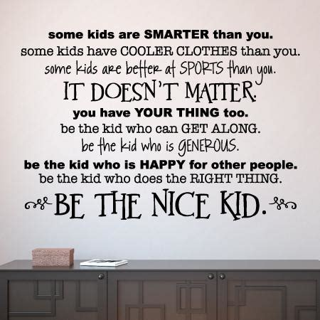 nice kid simple wall quotes decal wallquotescom