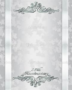 free 25th wedding anniversary invitations free templates With 25th wedding anniversary invitations online free