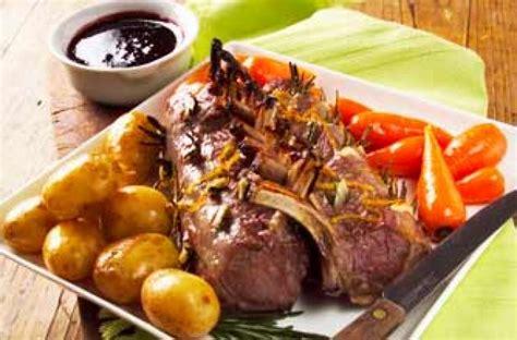 redcurrant rack  lamb recipe goodtoknow