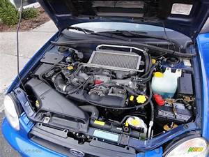 2002 Subaru Impreza Wrx Sedan 2 0 Liter Turbocharged Dohc
