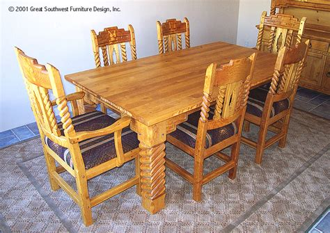 sandia southwest style dining set tables chairs china