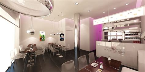 siege social planet sushi bar and restaurant design