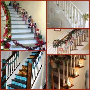 Bring on the Holiday Staircase Flair 5 Decorating Ideas