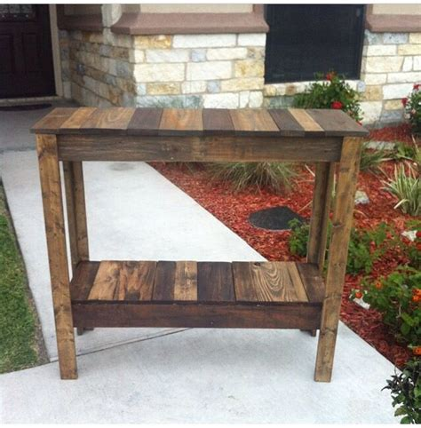 coffee table made out of pallet wood coffee bar table i made out of discarded pallet wood my
