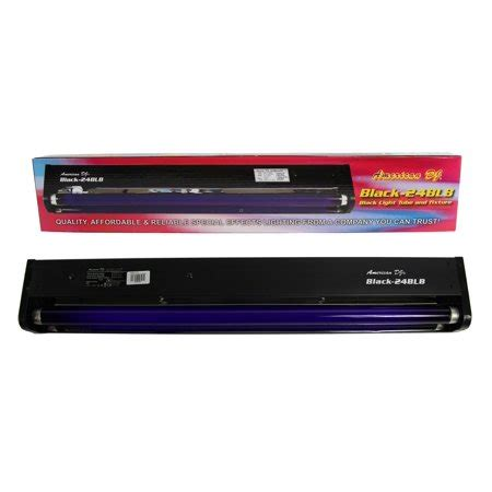 american dj 24 quot 20w black light tube and fixture for dj