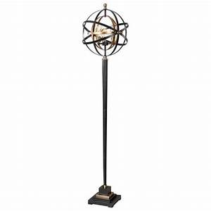 uttermost rondure sphere floor lamp 28087 1 With sphere 5 light floor lamp