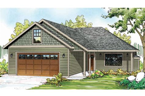 Ranch House Plans  Andover 30824  Associated Designs