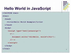 introduction to javascript ppt video online download With documents in javascript