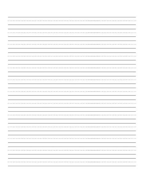 printable blank writing worksheet  images cursive