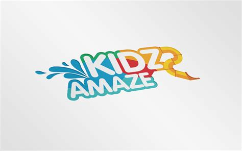 kidz amaze logo and brochure design serene soh singapore freelance designer