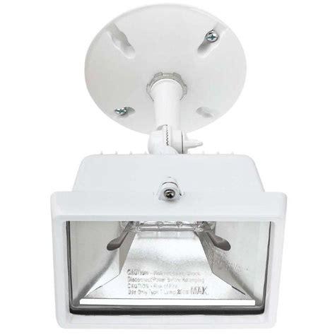 globe electric 250 watt single l outdoor halogen