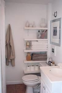 10 idees pour une petite salle de bain cocon de With kitchen colors with white cabinets with rangement papier toilette