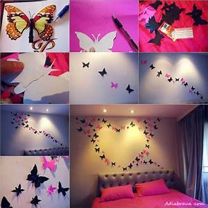 Diy butterfly wall art tutorial how to instructions