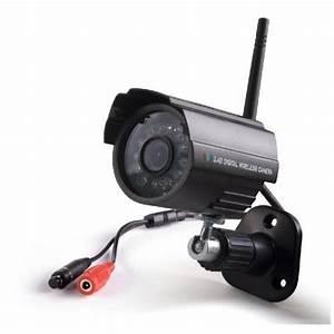 Systeme Video Surveillance Sans Fil : kit de vid osurveillance sans fil num rique pour pc ~ Edinachiropracticcenter.com Idées de Décoration