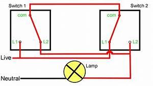 Wiring A Two Way Switch Diagram