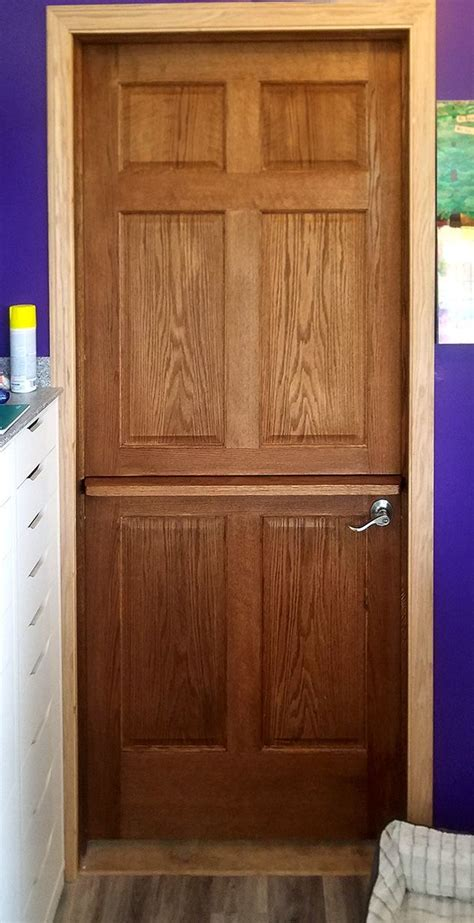 oak  panel interior dutch door  shelf oakinteriordoors panelinteriordoors