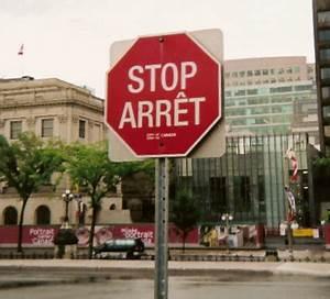 Panneau Stop Paris : zweisprachigkeit in kanada wikipedia ~ Medecine-chirurgie-esthetiques.com Avis de Voitures