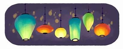 Lantern Festival China Google Kong Hong Doodles