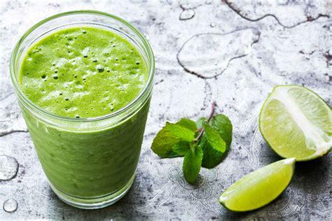 cajun cuisine green mojito smoothie recipe simplyrecipes com