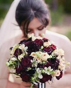 Bouquet Fleur Mariage : bouquet de fleurs bordeaux pour le mariage bouquets ~ Premium-room.com Idées de Décoration