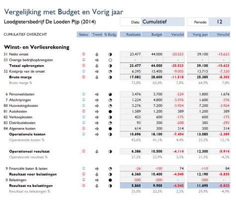 foto de Vergelijking Boekhouden in Excel