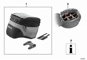 2014 Bmw F800gs Adventure Vario Insert For Tank Bags
