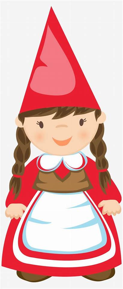 Clipart Gnome Garden Cartoon Clip Getdrawings Graphic