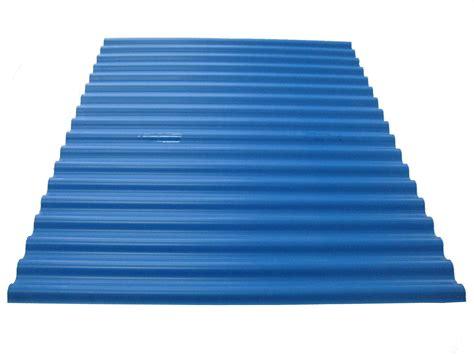 China Pvc Corrugated Roofing Sheet 2.0mm Blue (dg-eco20)