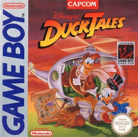 gameboy duck tales  ducktales  konsolenkost