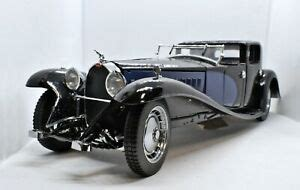 At the time it was the largest, costliest and grandest luxury motor car ever built. Franklin Mint Detailed 1:24 Scale 1930 Bugatti Royale Coupe Napoleon Blue/Black | eBay
