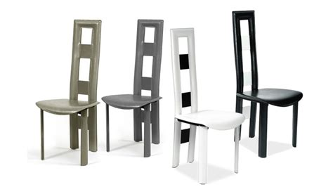 chaise dossier haut chaise haut dossier salle a manger kirafes