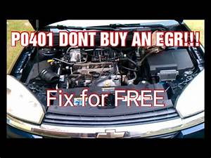 How To Check A Check Engine Light Code Egr Code P0401 Dont Replace Egr Quot Insufficient Flow
