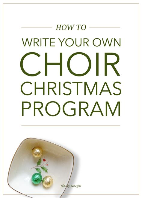 small church christmas musical programs - Christmas Programs For Small Churches