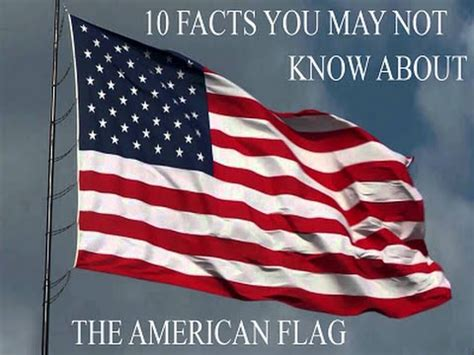 American Flag  10 Facts You May Not Know Youtube