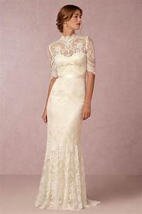 vintage lace wedding dresses from bhldn modwedding With wedding dress vintage style lace