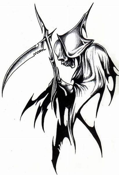 Dibujos Tribales Grim Reaper Tribal Imagenes Cool