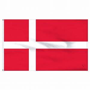 Denmark Flag - Nylon Flag of Denmark - 2' x 3'
