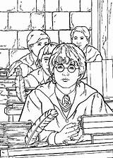 Potter Harry Coloring Chamber Secrets Pages Colors Cartoon Sheets Always Disney Coloringpagesfun sketch template