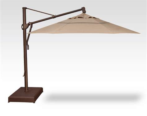 treasure garden cantilever umbrella 13 treasure garden quickship 13 foot cantilever umbrella