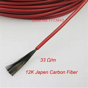 12k 20m 33ohm To Warm The Carbon Fiber Heating Wire Carbon