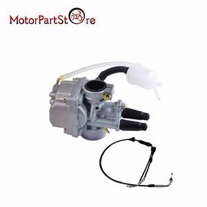 Carb Carburetor Carby   Throttle Cable For Pw80 Py80 Gt