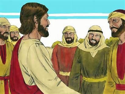Disciples Jesus Sends Mission Luke Matthew Story